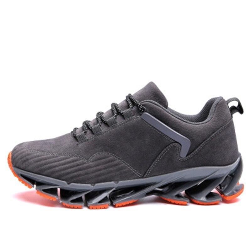 MYNEYGRE chaussures de course chaussures de marche hommes chaussures de course à pied arc-lame Sports de plein air pour amorti printemps lame chaussures de sport masculin