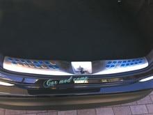 New! для Toyota C-HR CHR 2016 2017 Нержавеющая Сталь Задняя Внутренняя бампера Протектор Гвардии Подоконник Заглушка Отделка 1 шт. Стайлинга Автомобилей!