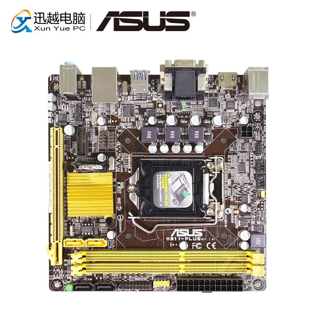 все цены на Asus H81I-PLUS DP Desktop Motherboard H81 Socket LGA 1150 i7 i5 i3 DDR3 16G SATA3 UBS3.0 Mini-ITX онлайн