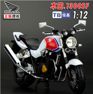 Free Shipping JOYTCY 1/12 Scale Motorcycle Model Toys HONDA CB1300SF Super Motor Diecast Metal Motrocycle Model Toy For Gift