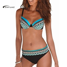 купить 2019 New Sexy Bikini Women Swimwear Swimsuit Bathing Suit Plus Size Swimwear Biquinis Summer Beach Wear Swim Suit Female дешево