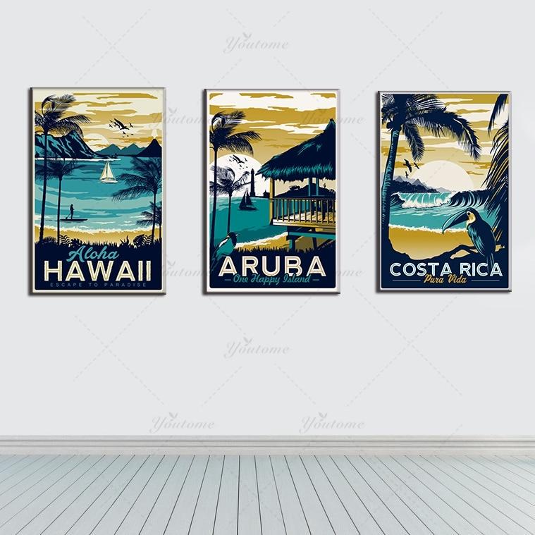 Hawaii landschapsschilderkunst koop goedkope hawaii landschapsschilderkunst loten van chinese - Moderne kamer volwassen schilderij ...