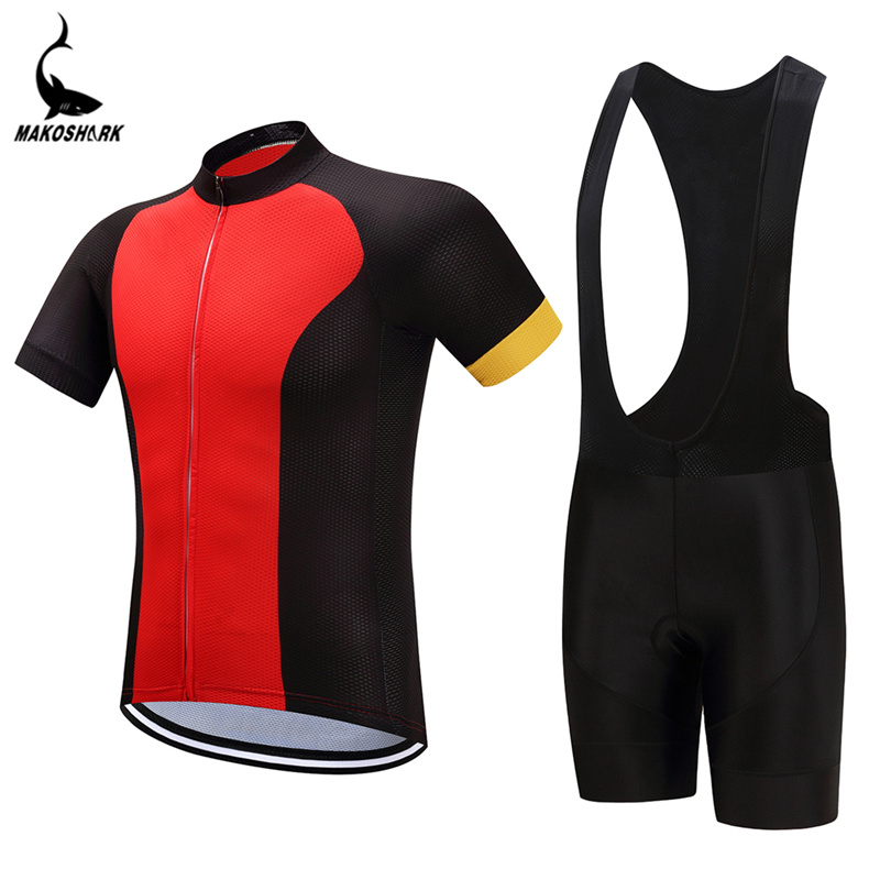 2018 Newest Cycling Clothing Bike jersey Quick Dry Mens Bicycle clothes  summer team Cycling Jerseys gel 6f34122d6