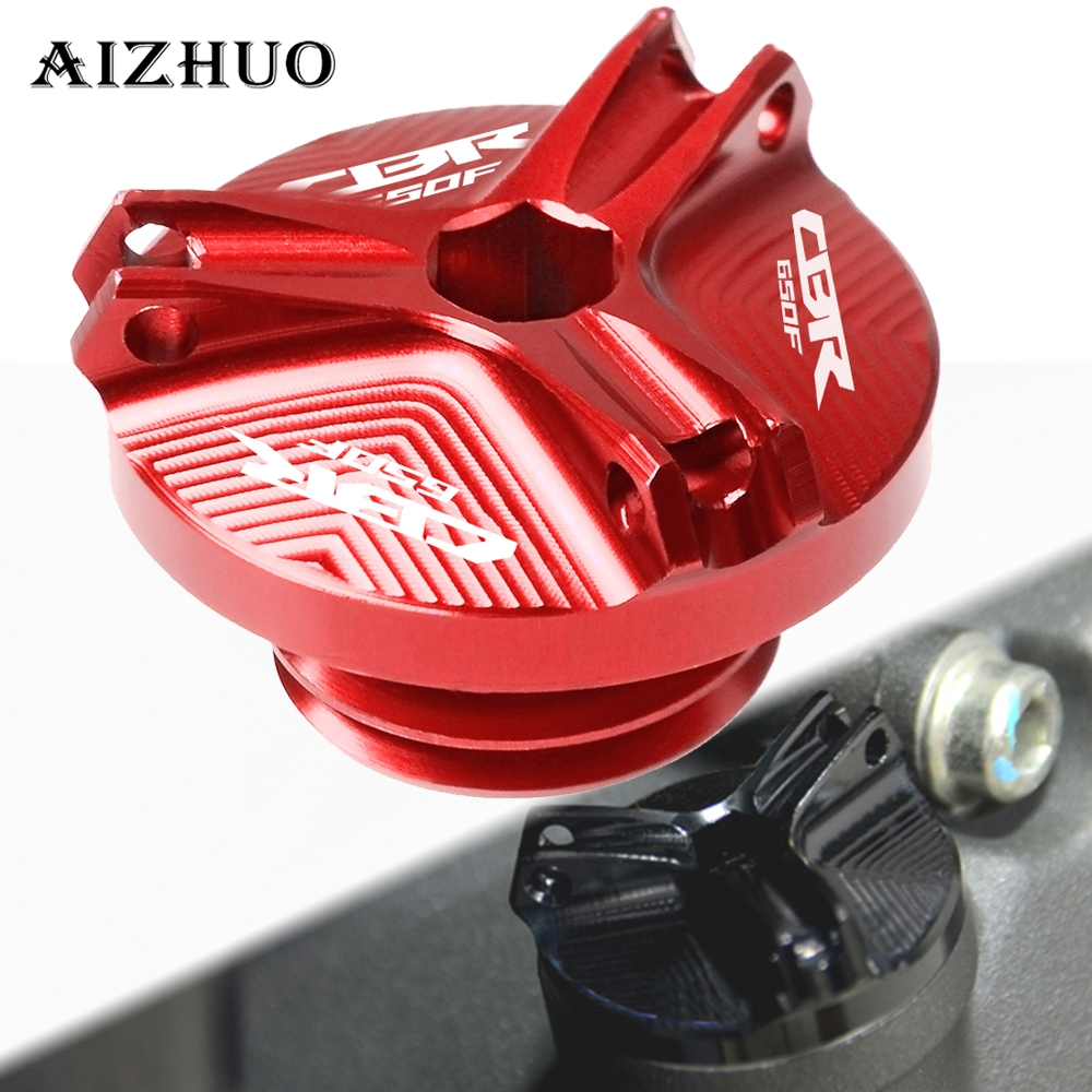 Motorcycle Engine Oil Filler Cup Cap Plug Cover For HONDA CBR650F CBR 650F CBR650 F 650 CB650F 2014-2016