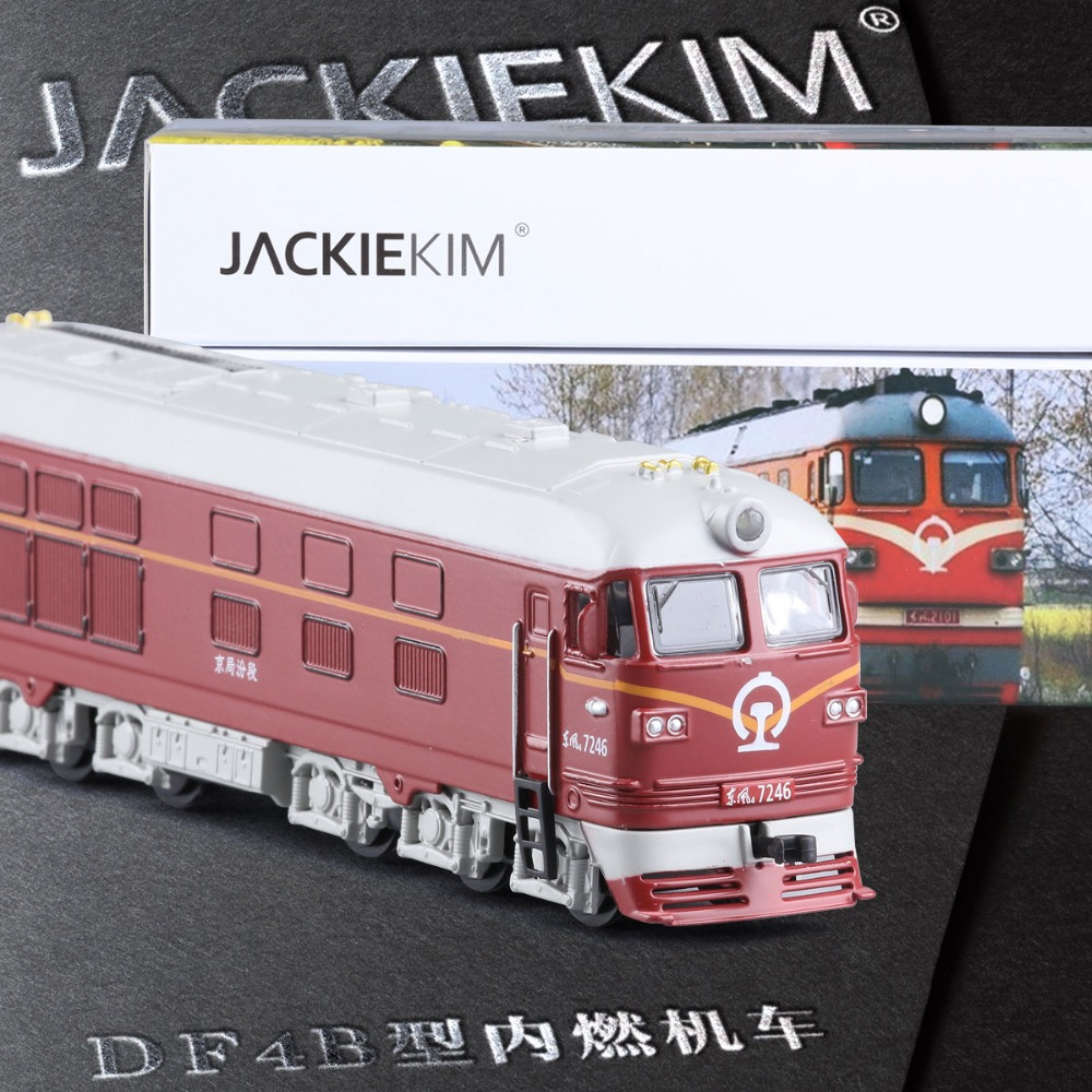 Diecasts & Toy Vehicles Amiable High Simulation 1:87 Alloy Train Model Toy Diesel Locomotive Internal-combustion Locomotive Model Of Acousto-optic Kids Toy Latest Fashion