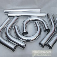 Turbo Intercooler Pipe 8Piece Kits 76MM(3Inch) Aluminum Piping,High Quaity Universal Aluminum tube 8Piece Kits
