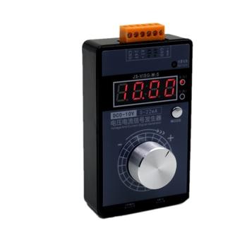 Wysoce precyzyjny regulowany prąd analogowy symulator napięcia 0-10V 2-10V 0-22mA 4-20mA źródła sygnału generatora sygnałów tanie i dobre opinie Elektryczne 3 0-4 9 Cali TKXEC