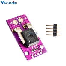 CJMCU-758 ACS758LCB-100B-PFF-T lineal de corriente de Hall Módulo de Sensor de 3V a 5,5 V, alimentación única operación más