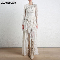 High quality Summer dress 2018 women vintage style vestidos party maxi dresses elegant female vintage vestido sexy long dress