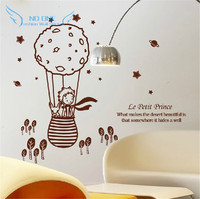 Cute Creative Big Size 112 5 X 98 Cm For Kids Rooms Little Prince And The