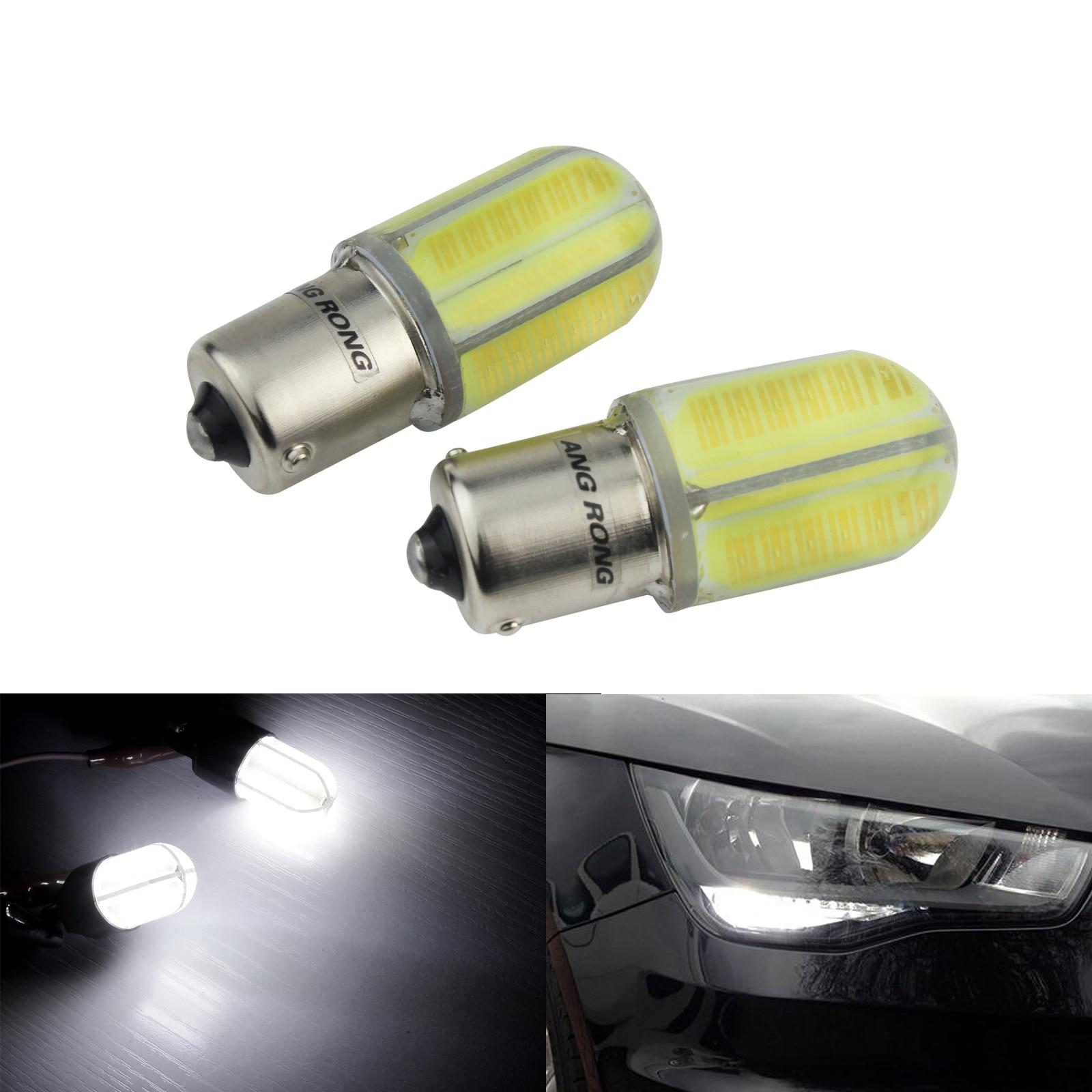 BA15s 1156 382 P21W 48 SMD LED Auto Sidelight Side Light Bulbs 6000K Xenon White