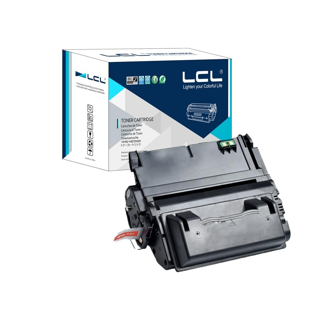 ФОТО LCL 42A 38A Q5942A Q1338A  (1-Pack Black) Toner Cartridge Compatible for HP LaserJet 4200/4300/4250/4350/4345 Series