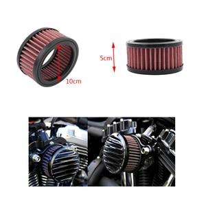 """Image 5 - 1 Cái Đa Năng Xe Máy Lọc Không Khí 4 """"Khe Hút Không Khí Lọc Cho Harley Sportster XL883 XL1200 X48 V. V Xe Máy Phụ Kiện"""