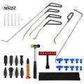 WHDZ автомобильный инструмент для ремонта вмятин  инструменты для ремонта вмятин  Т-бар  слайдер  молот  инструменты для ремонта вмятин  набор...