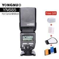 YONGNUO YN685 Wireless 2.4G HSS TTL Flash Speedlite for Canon Nikon YN685C YN685N Support YN560 TX RF603 II YN622C YN622N TX