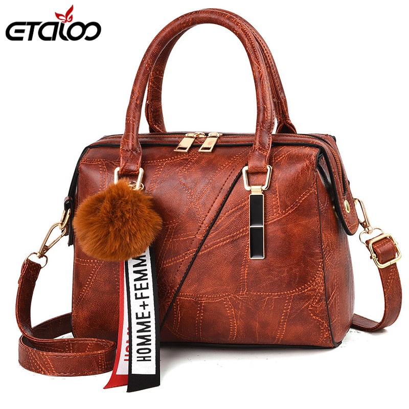 Women's Handbag Tote-Bags Messenger-Bag Classic Female Casual Lady PU