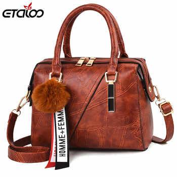 Women's Handbag 2019 New Women Messenger Bag Casual Women PU Leather Handbags Lady Classic Shoulder Bags Female Tote Bags - DISCOUNT ITEM  52% OFF All Category