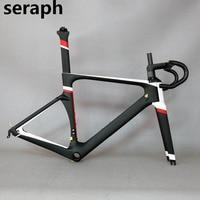 2018 Top SERAPH Brand Carbon Bicycle Frame Factory Wholesales Carbon Fiber Road Bike Frame Fm005 Frame