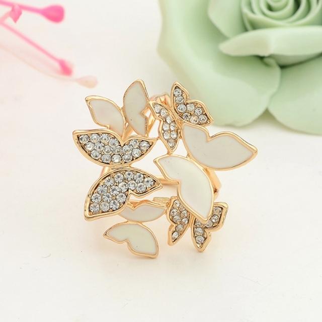 Wild Butterfly Scarf Brooch Pin