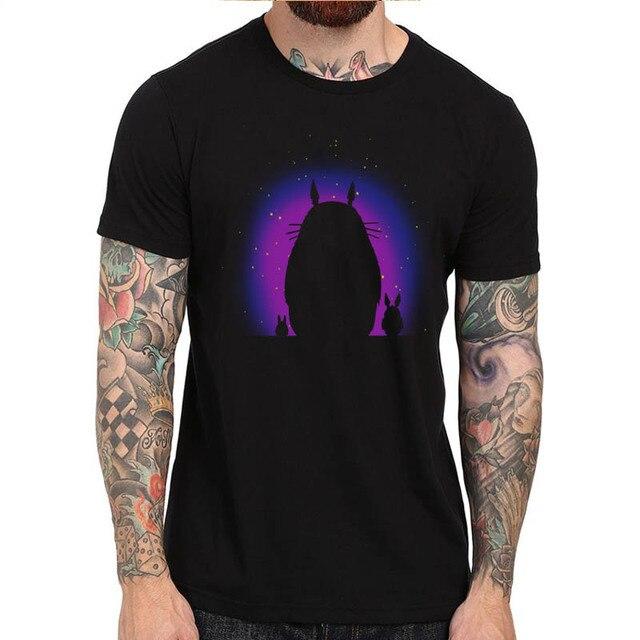 2017 Fashion Casual Streetwear Hot Sale My Neighbour Totoro Anime T Shirt For Men Women