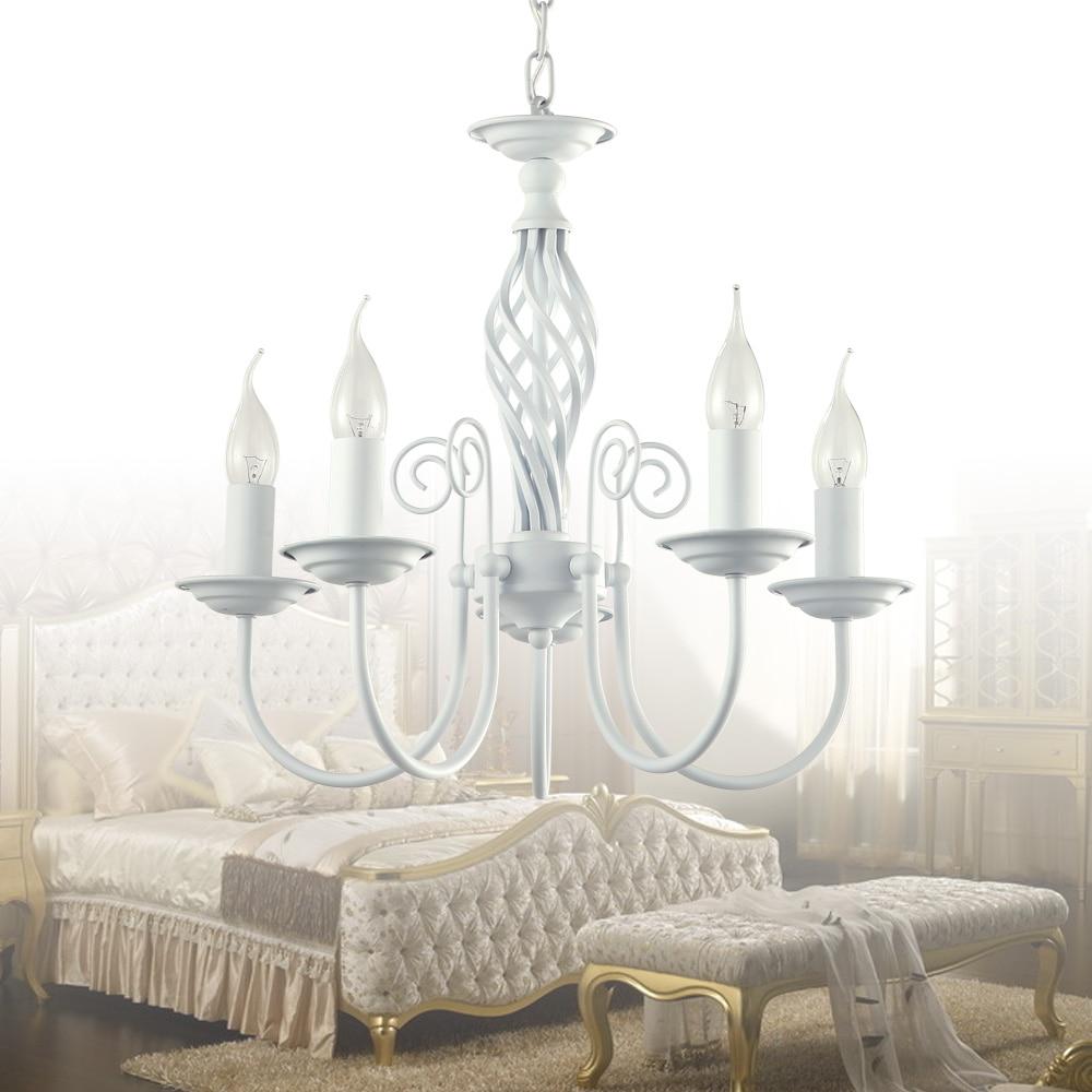 ФОТО painting LED chanandelier  LED  white chandelier lighting LED   lustre