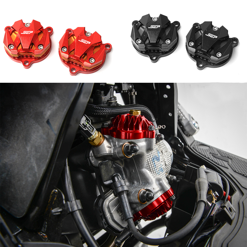 Scooter Accessories CNC Aluminum Alloy Engine Cam Head Side Cap Cover For Yamaha BWS X 125 BWS R 125 Cygnus 125 GTR 125 motorbike scooter cnc aluminum alloy rotatable spinable cooling fan cap cover protector guard for yamaha bws x 125 cygnus 125