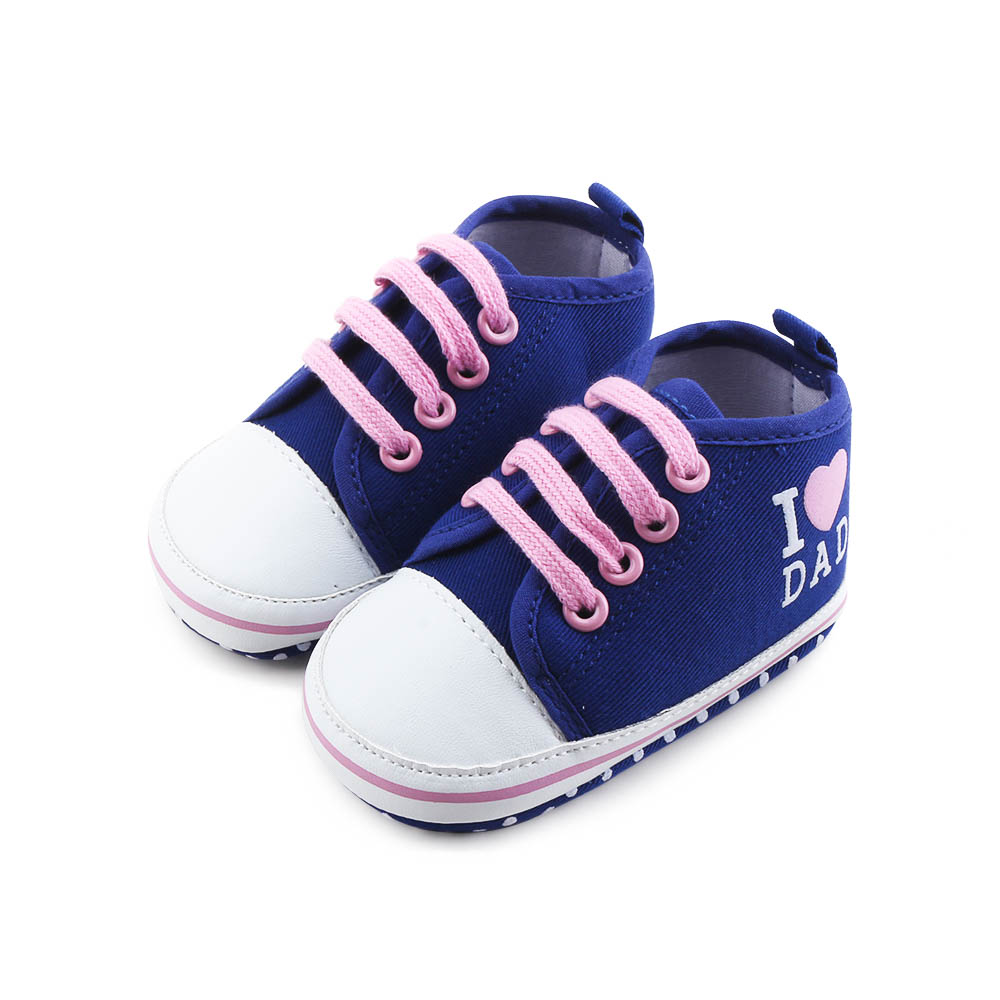 New Dark Blue Lace up Baby Boy Shoes For Age 0 1 Years ...