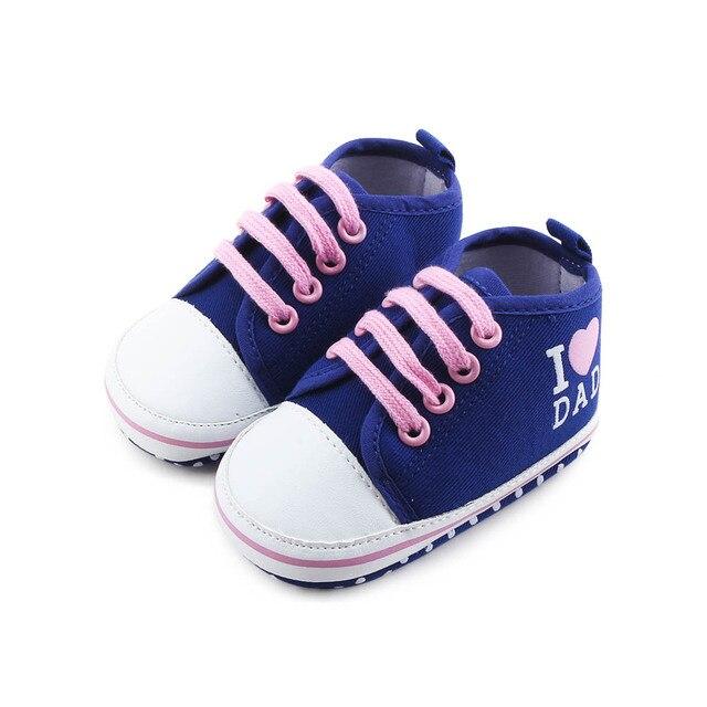 75641357 Aliexpress.com: Comprar Nuevos zapatos de bebé de encaje azul oscuro ...