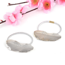 2 pcs Leaves Hair Clips