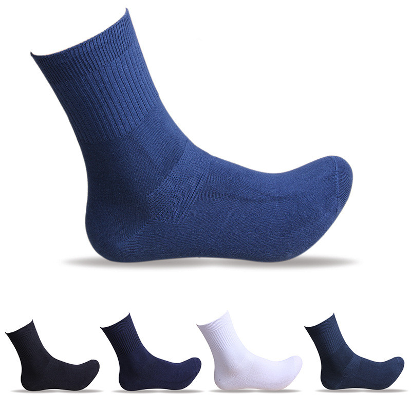 5pairs/lot New brand winter warm thick Mens casual cotton Socks Quality Polyester business dress Socks For Men 5Colors