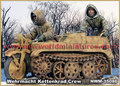 Resin Kits  1/ 35 wehrmacht kettenkrad crew not include the bike Resin Model DIY TOYS new WWII WW2