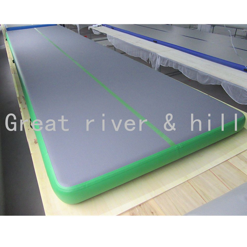 Gym Mattress 5m X2m X0 1m Hand Made Easy Carry Inflatable Gymnastics Mats Air Track In From Sports Entertainment On Aliexpress