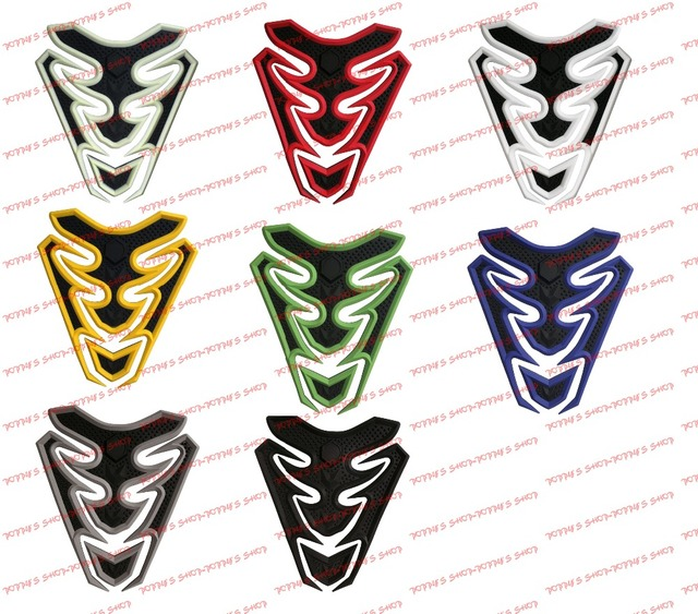2016 new design 3d rubber sticker motorcycle sticker fuel gas tank pads tank protector tank sticker