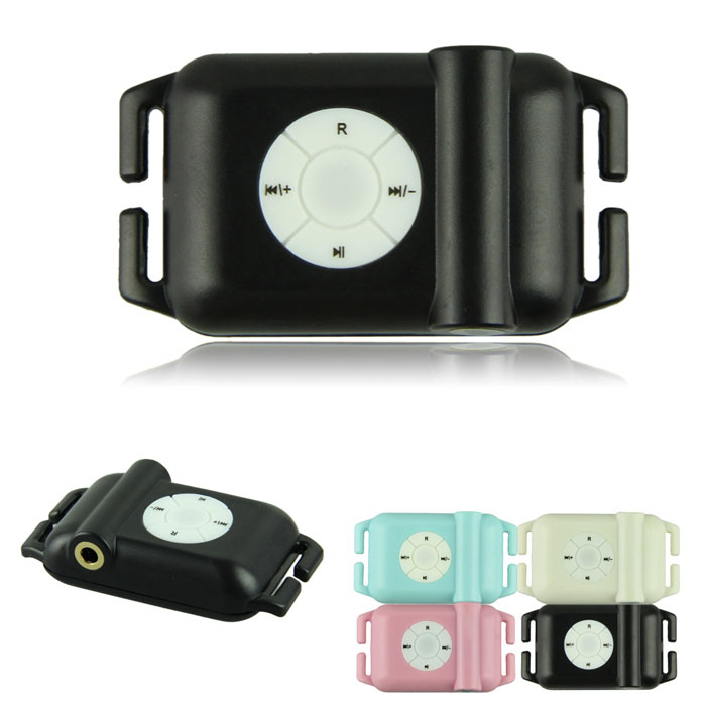 Fantastic 100 IPX8 Waterproof MP3 Player 4GB Sports Mp3 Player Free shipping