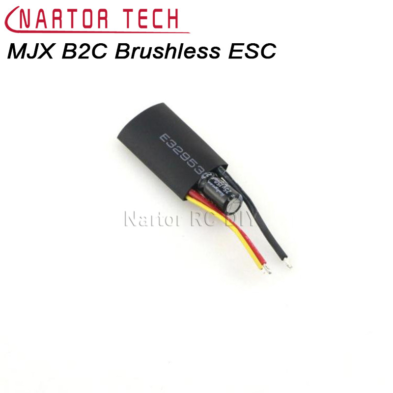 MJX B2C Brushless ESC RC Helicopter Spare Parts For MJX Bugs 2 B2C B2W RC Quadcopter mjx bugs 3 rc quadcopter rtf black