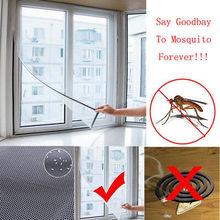 Съемный большой экранная оконная сетка насекомое муха от насекомых Комаров моль дверь чистая 1 шт