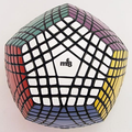 [Speed Demon Cubo Tienda] MF8 Teraminx Cubo negro Cubo mágico Puzzle