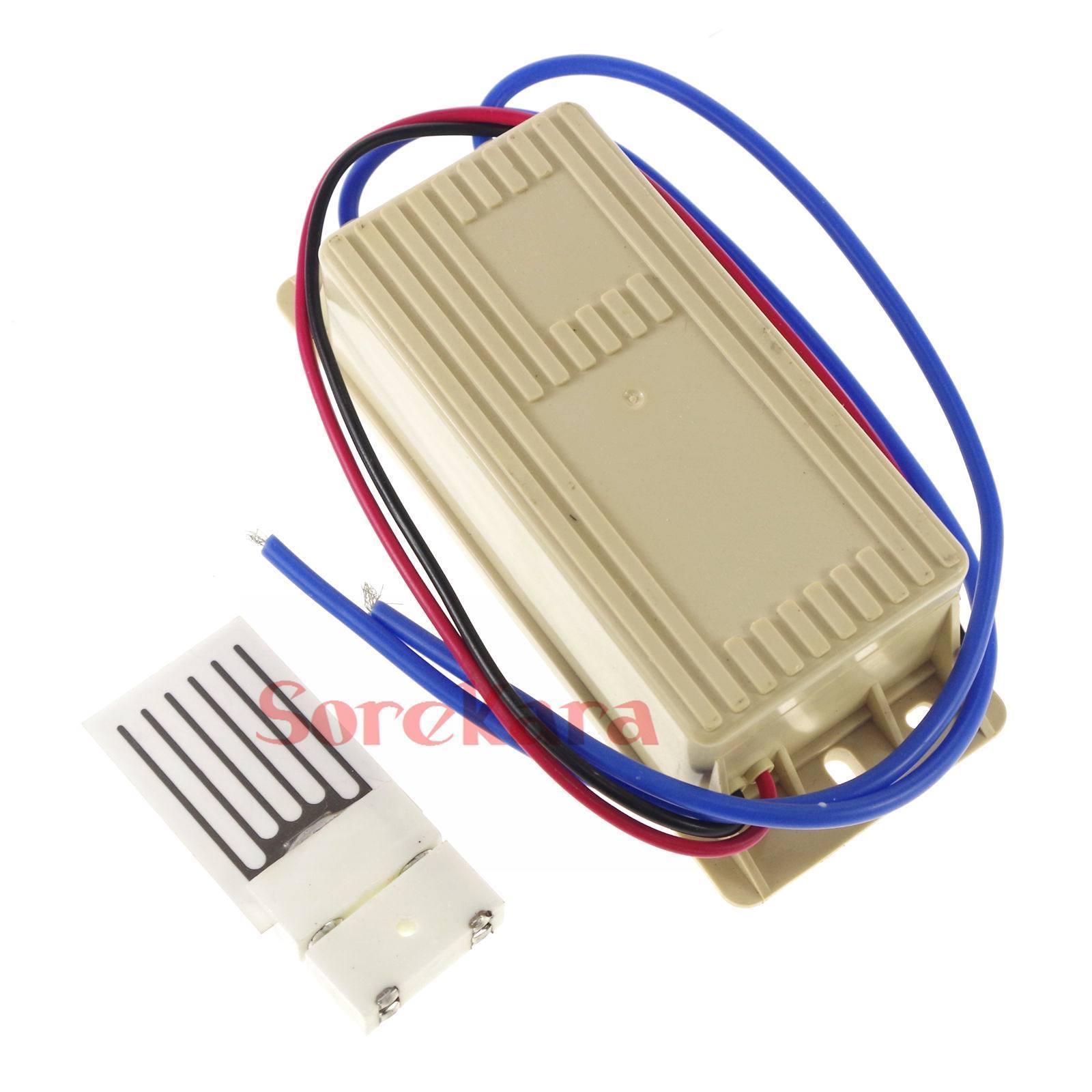Kit Output 1g/h 2g/h 12VDC 110VAC 220VAC Power Supply +Ceramic Plate Circuit Board Ozone Generator Air Purifier 3-3.5KV 16KHZ