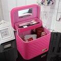 Hot Grandes Bolsas de Cosméticos Bolso de Viaje Bolsa de Maquillaje Profesional caja De Almacenamiento de cosméticos Organizador Necessaries Maquillaje Caso de La Belleza