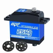 SPT Servo SPT5325LV-210/320/360 25kgLarge torque/Large angle Metal gear Digital Servo for Robotics/ airplane/ RC Car / RC Model xq power xq s5650d brushless digital servo 60kg 8 5v for rc model