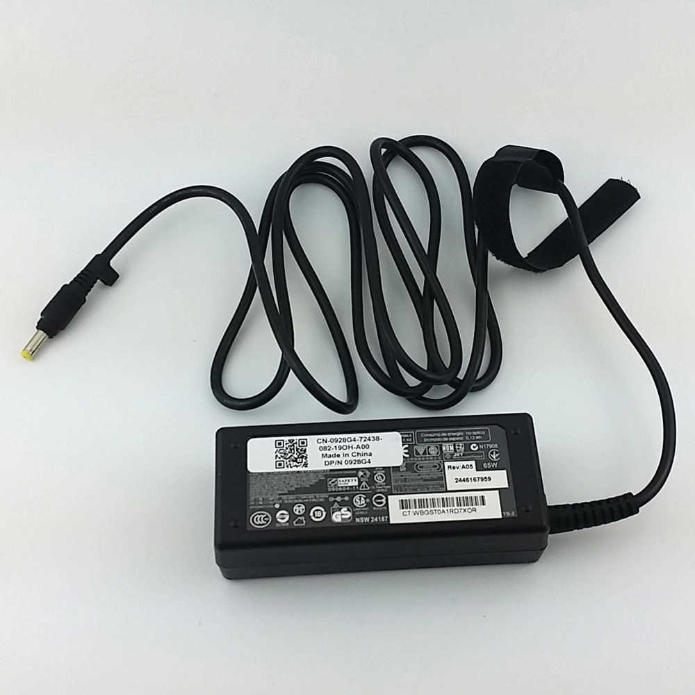 オリジナル hp パビリオン DV2000 DV4000 ac アダプタノートパソコンの充電器電源 65 ワット
