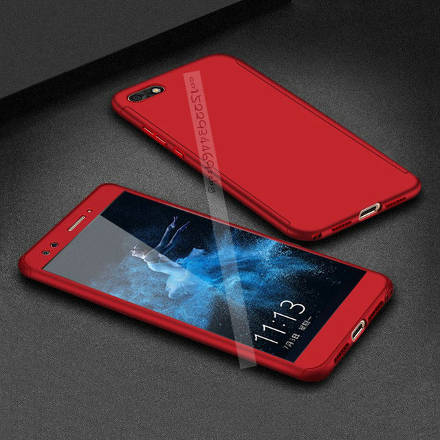 wholesale dealer 4eeab 4c6f8 US $2.99 25% OFF|360 Degree Full Cover Cases For Huawei Honor 7S 7 S DUA  L22 Phone Case For Huawei Honor 7S 7 S DUA L22 Cases Tempered glass -in ...