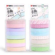16 PCS/2 ensembles M & G Chenguang papeterie 7mm * 5 m meetape crème glacée ensemble papier ruban ruban de masquage washi bande