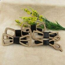 Мужские аксессуары Unique Wooden Bow Tie