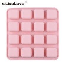 20 мм небольшой квадратный кубик льда плесень для летних напитков многоразовые силиконовые кубики льда лоток формы для желе, пудинга