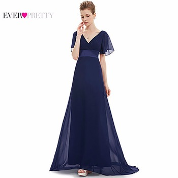 Evening Dresses HE09890 Padded Trailing Flutter Sleeve Long Women Gown 2016  New Chiffon Summer Style Special b8e8fa0d1607