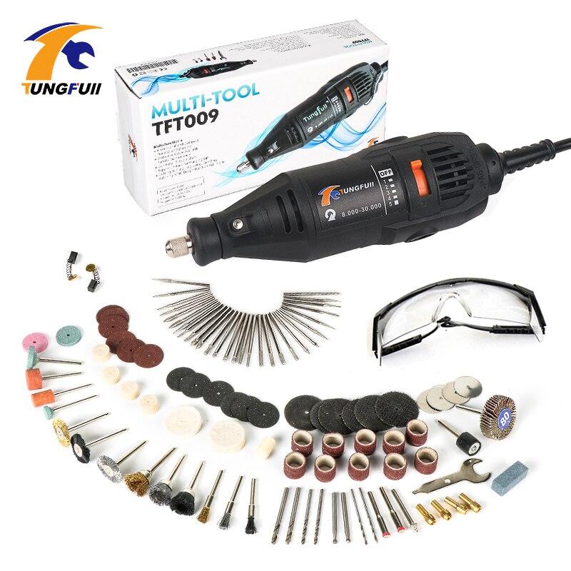 где купить Tungfull Electric Drill 220V Engraver Rotary Tool Polishing Engraving Drilling Cutting Rotary Tool Engraver Woodworking по лучшей цене