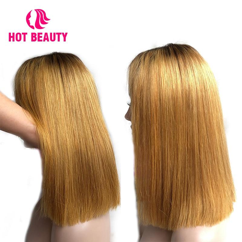 Hot Beauty Hair Glueless Snörning Front Mänskliga Hårperor Med - Mänskligt hår (svart) - Foto 5
