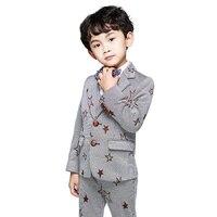 Baby Boy Suit The New 2018 Autumn Coat Children Suit Handsome Small Suit Suit Baby Boy