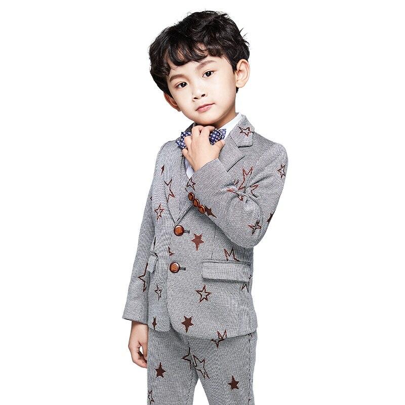Baby Jungen Anzug Die Neue 2018 Herbst Mantel Kinder Anzug Hübsche Kleine Anzug Anzug Baby Junge Gute QualitäT